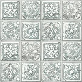 Keltische Tegels Behang L143-04