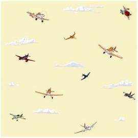 Rasch Disney Deco vliegtuigen planes behang 3004-2
