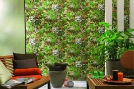 natuur behang mooie groen planten x26