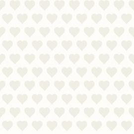 Esta Love 136811 Hearts white