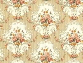 Engelse bloemen behang 54715