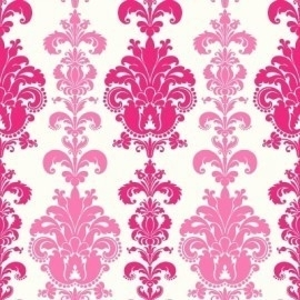 paars roze wit barok behang 28