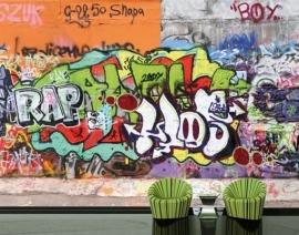 Mantiburi Fotobehang Graffiti Wall 31