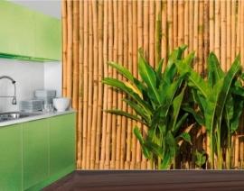 Mantiburi Fotobehang Wall of Bamboo 41