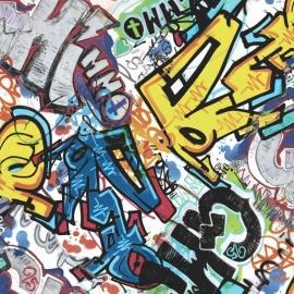 What's Up behang WU17642 Graffiti