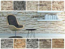steen stenen natuursteen hout behang x23