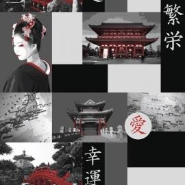 geisha behang jet setter 1529