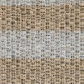 BN Rivièra Maison behang 18321 Rustic Rattan Stripe