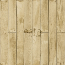 Esta Home Denim & Co. wood beige and brown 137744