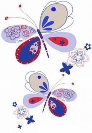 Cozz Kidz Wandposter 22189 behang vlinder