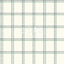 Esta Regatta Crew 136435 groen blauw ruiten behang