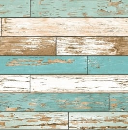 Dutch Reclaimed behang FD22318 Scrap Wood