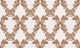 937442 La romantica creme bruin behang
