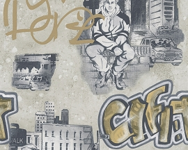 AS Creation Boys and Girls Graffiti behang 30468-3