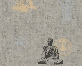A.S. Création boeddha behang 9431-21 943121