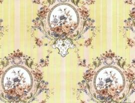 Engelse klassiek bloemen behang 54518