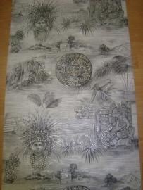 Egyptisch farao behang x50