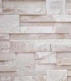 bluff beige creme marmer steen natuursteen vinyl behang x58 -