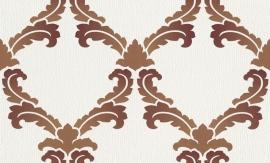 937431 La romantica wit bruin behang
