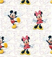Disney Mickey Mouse & Minnie Behang WPD 9748