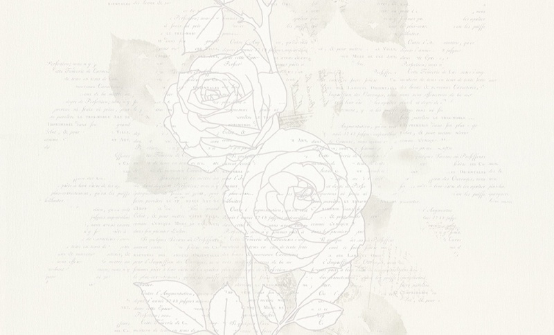 937481 La romantica grijs wit behang