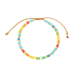 Candie Bracelet Gold and Colour | Candie Armband