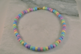 Candienecklace Pastel | Snoepjesketting Pastel