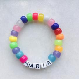 Candiebracelet Rainbow | Snoepjes armband regenboog
