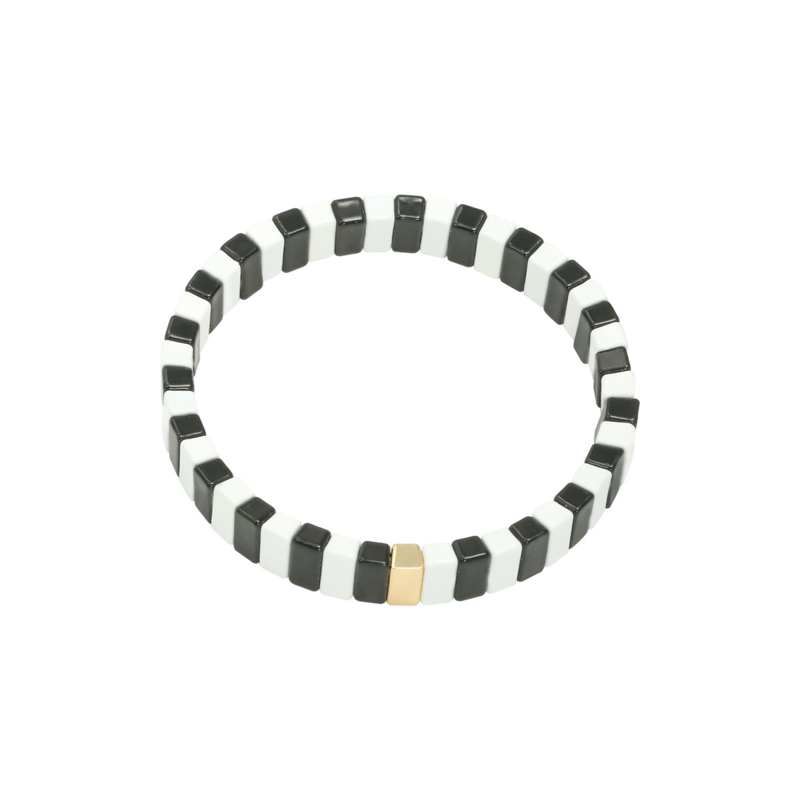 Candie Bracelet Black and White | Candie Armband