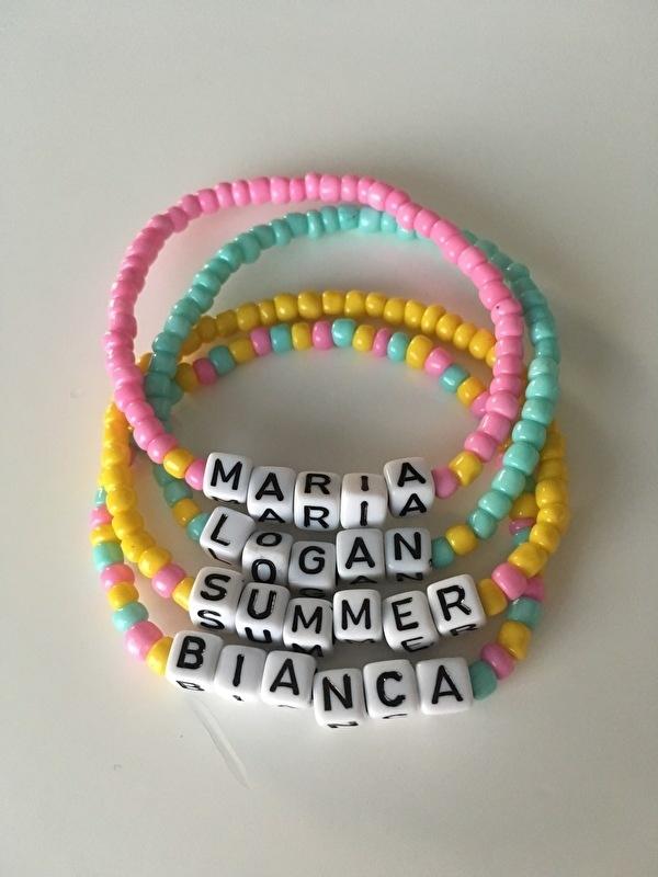 The Name bracelet dice | Naamarmbandje