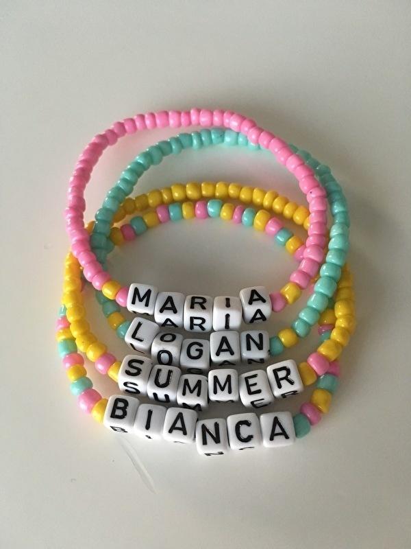 Kids! The Name bracelet dice | Kinder Naamarmbandje