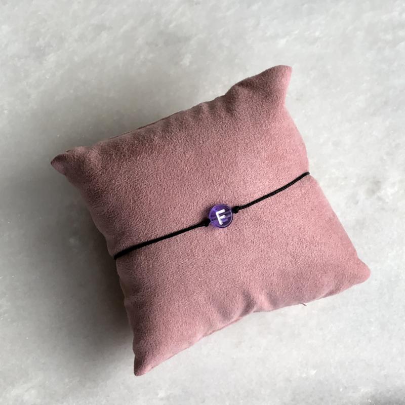 The Initialcord Purple   Initiaaltouwtje Paars