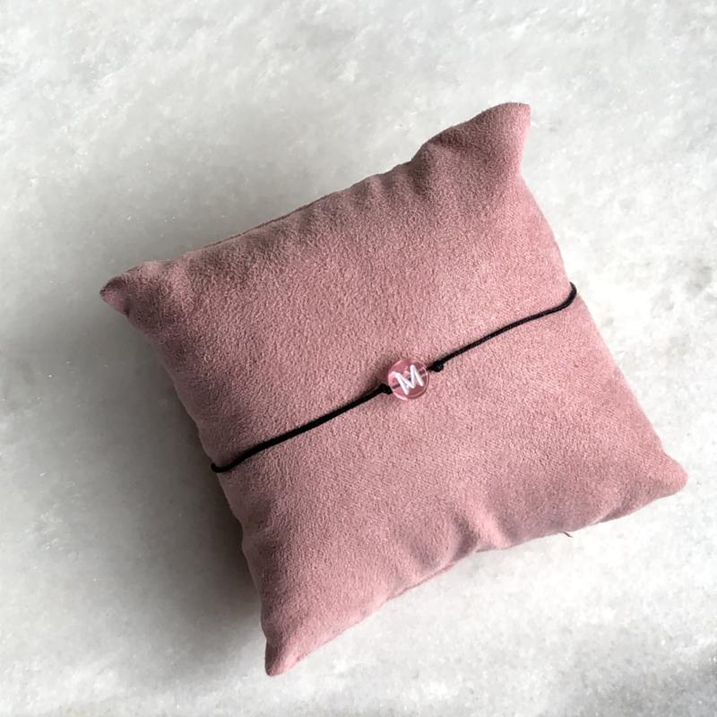 The Initialcord Pink | Initiaaltouwtje Roze