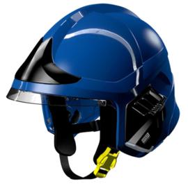 MSA Gallet F1 XF helm blauw