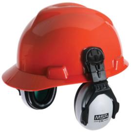 MSA EXC hoofdband gehoorkap op helmuitvoering