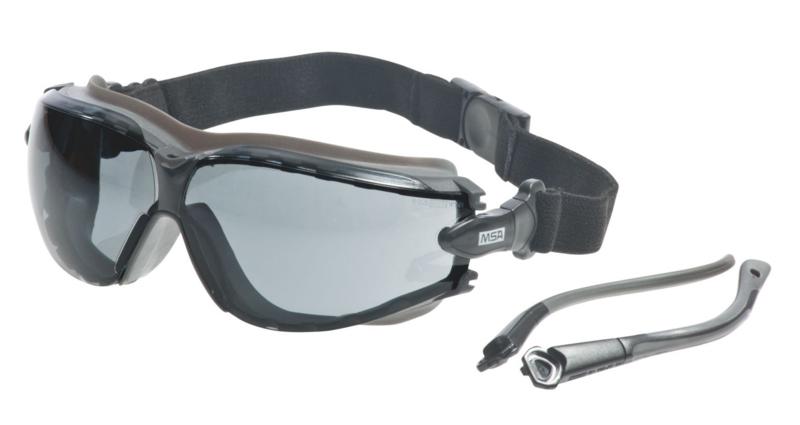MSA Altimeter, getönt, UV400, Sightgard, mit Kopfband und Bügeln, 12 x