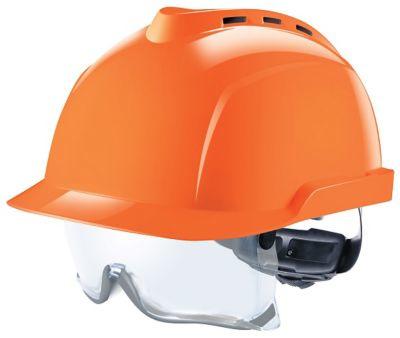 MSA Veiligheidshelm V-Gard 930 met geïntegreerde oogbescherming - per 20 stuks