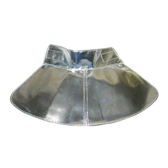 MSA Neklap F1XF aluminium