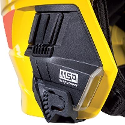 Lamphouder voor de MSA brandweerhelm F1 XF