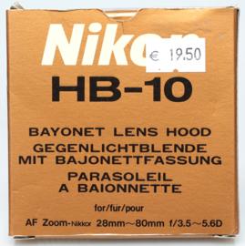 Nikon HB-10 zonnekap