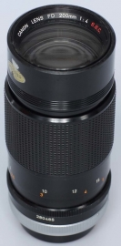 Canon 200 mm f 4 SSC