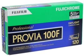 Fujicolor Provia 100F 120 vijfpak