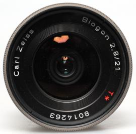 Contax G - 21mm Biogon f2.8 + zoeker