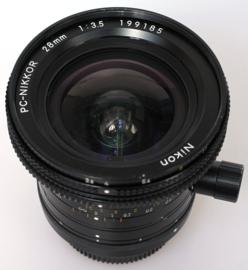 Nikon 28mm f3,5 PC nikkor