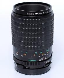 Mamiya 645 4.0 - 120mm macro A