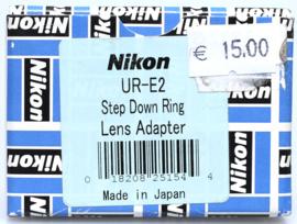 Nikon UR-E2 step down ring / lens adapter