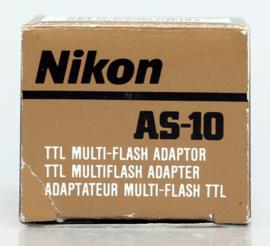 Nikon AS-10 multi TTL adapter