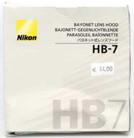 Nikon HB-7 zonnekap