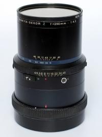 Mamiya RZ 4.5 - 250mm