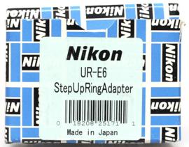 Nikon UR-E6 Step Up Ring adapter
